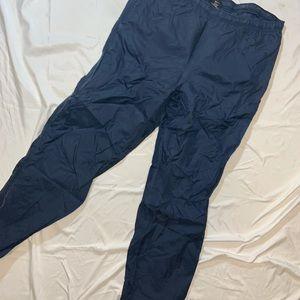 Nike Windbreaker Ankle Zip Athletic Soccer Pants